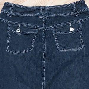 Christopher & Banks Skirts - Christopher & Banks Blue Jean Skirt Size 4
